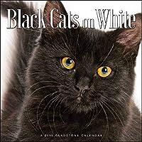 2019 Black Cats on White Calendar [並行輸入品]