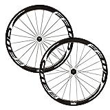 FFWD(ファストフォワード) F4R(45mm) DT240 Carbon Tubular(チューブラー ) Wheelset(ホイールセット) - White [Shimano 11S] [並行輸入品]