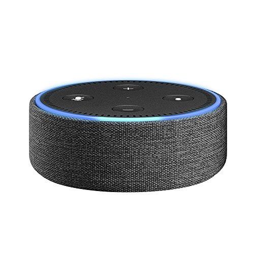 Amazon Echo Dot用ファブリックケース チャコール