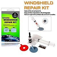 ARISD Car Windshield Repair Kit ? Windshield & Glass Repair Tool Set for Half-Moon Cracks or The Combination Cracks [並行輸入品]