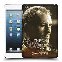 オフィシャルHBO Game of Thrones Stannis Baratheon キャラクター・ポートレート iPad mini 1 / mini 2 / mini 3 専用ハードバックケース