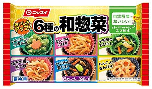 ニッスイの和惣菜の冷凍食品