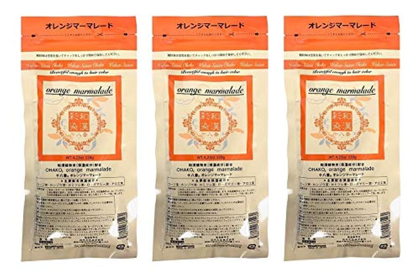 バーガーインタビュー自然【3個セット】グランデックス 和漢彩染 十八番 120g オレンジママーレード