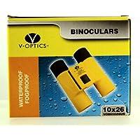 2008 – v-optics – 双眼鏡 – 10 x 26 – 防水/Fogproof – Compact Porro – 角度6.5 – ケース&ストラップ – 新しい