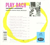 Play Bach, No. 1 by Jacques Loussier (2001-04-24)