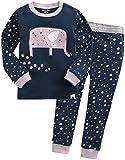[Vaenait Baby]キッズ子供ベビー服綿100%ルームウェア長袖パジャマ寝間着上下セット Humming Kori XL