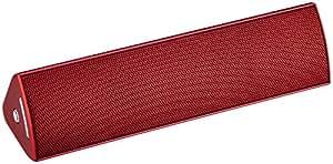 ELECOM Bluetoothスピーカー コンパクト NFC対応 apt-X対応  レッド LBT-SPP300AVRD
