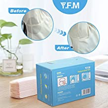 Sweat Pads, Luckyfine Perspiration Pads Underarm Pads Anti Perspiration for Women and Men, Invisible, Comfortable, Extra Adhesive, Disposable Dress Guards, 20 Packs 40 Pcs