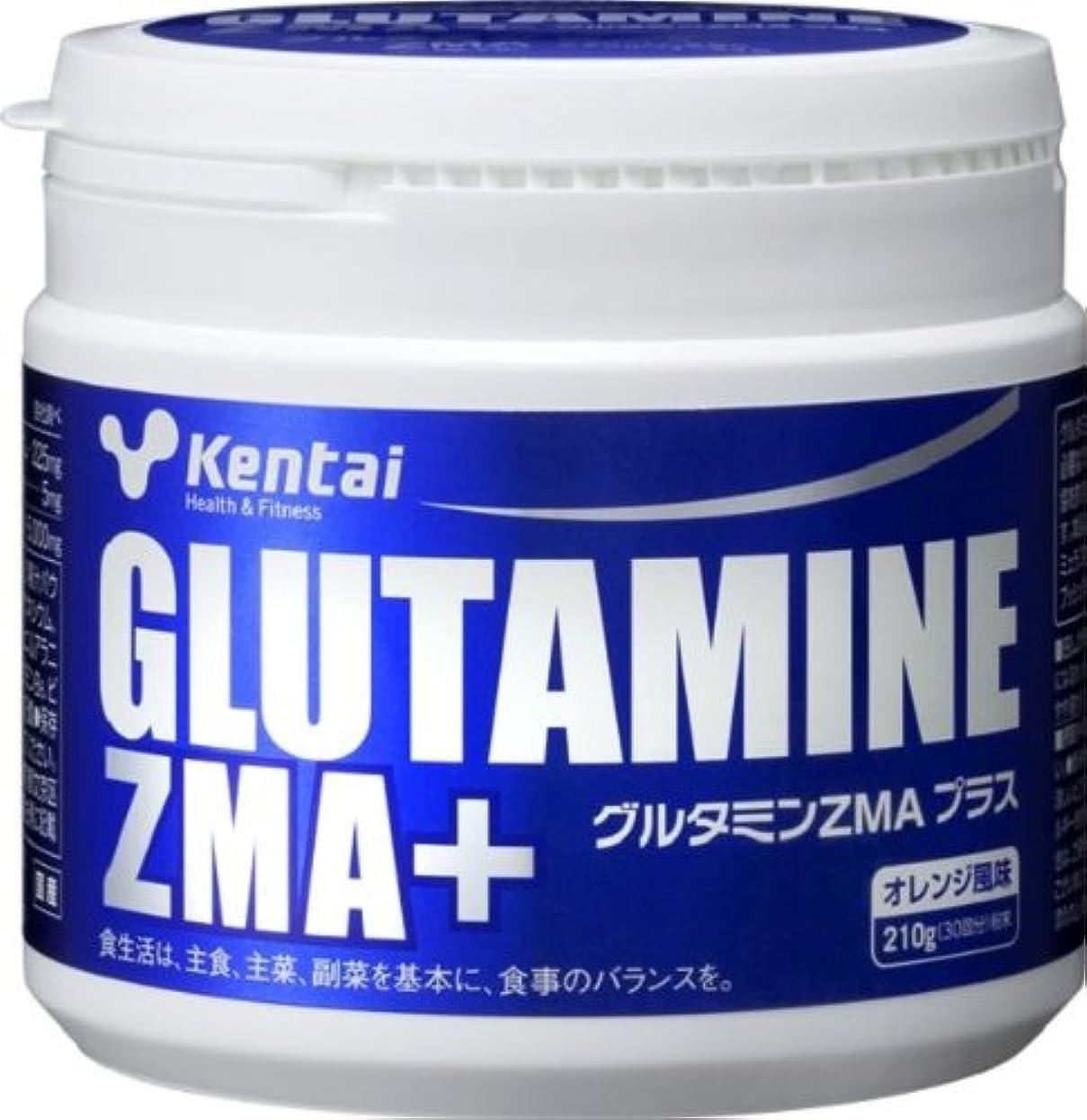 うがい薬説明する咽頭Kentai グルタミンZMAプラス オレンジ 210g