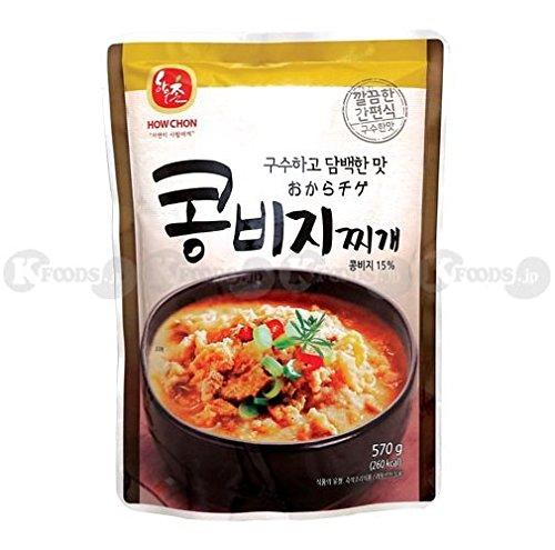 ハウチョン おから チゲ スープ レトルト 韓国料理 1袋(570g) 韓国産 [並行輸入品]