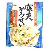 かんてんぱぱ 寒天ぞうすい ホタテ・ちんげん菜 21.3gX10袋セット