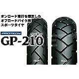IRC[井上ゴム] GP210 2.75-21 120/80-18 フロントタイヤ リアタイヤ 前後セット 3186-3191
