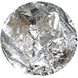【jewel】ネイルホイル 金箔風 ケース付き 金箔 銀箔 (銀箔)