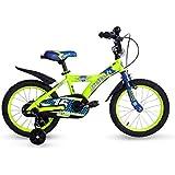 Cyfie 鷹さん 子供用自転車 泥除け付き 補助輪付き 滑り止めハンドル付き 簡単に安装 幅が広いタイヤ 安全 丈夫 全3サイズ