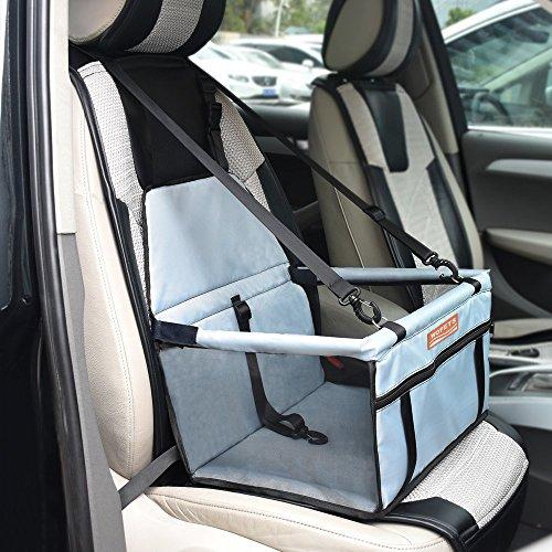 Wopet ペット用ドライブシート ペットドライブボックス ペット用シートカバー ドライブボックス キャリーバッグ 車用ペットシート カー用品 車載カバー 助手席用 滑り止め 汚れに強い 水洗い可能 車載用 2018新モデル