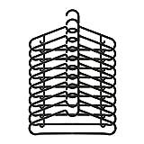IKEA/イケア SPRUTTIG:ハンガー10個セット ブラック (403.170.78)