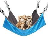 Austrake 猫 ハンモック フック付き キャットハンモック 猫用品 冬夏両用 バ ックル付 ペット用品