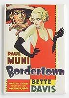 Bordertown映画ポスター冷蔵庫マグネット( 2.5X 3.5インチ)