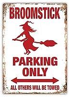Broomstick Parking ティンサイン ポスター ン サイン プレート ブリキ看板 ホーム バーために