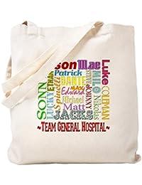 CafePress – チーム一般病院トートバッグ – ナチュラルキャンバストートバッグ、布ショッピングバッグ S ベージュ 0468560290DECC2