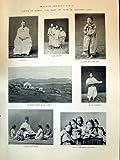印刷1894Corea Ladyマイケル・教会のミッションChemulpo Schoolmaster night-schoolアジア