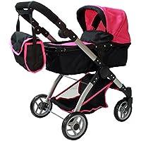 [マミーアンドミードールコレクション]Mommy & Me Doll Collection Mommy & me 2 in 1 Deluxe doll stroller 9620 [並行輸入品]