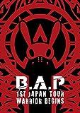 B.A.P 1ST JAPAN TOUR LIVE DVD WARRIOR Begins