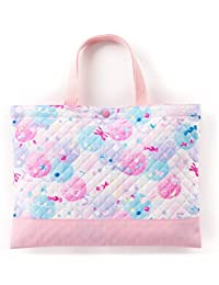 レッスンバッグ(キルティング) 絵本袋 手さげ おけいこバッグ ふわふわキュートなキャンディポップ N0243200
