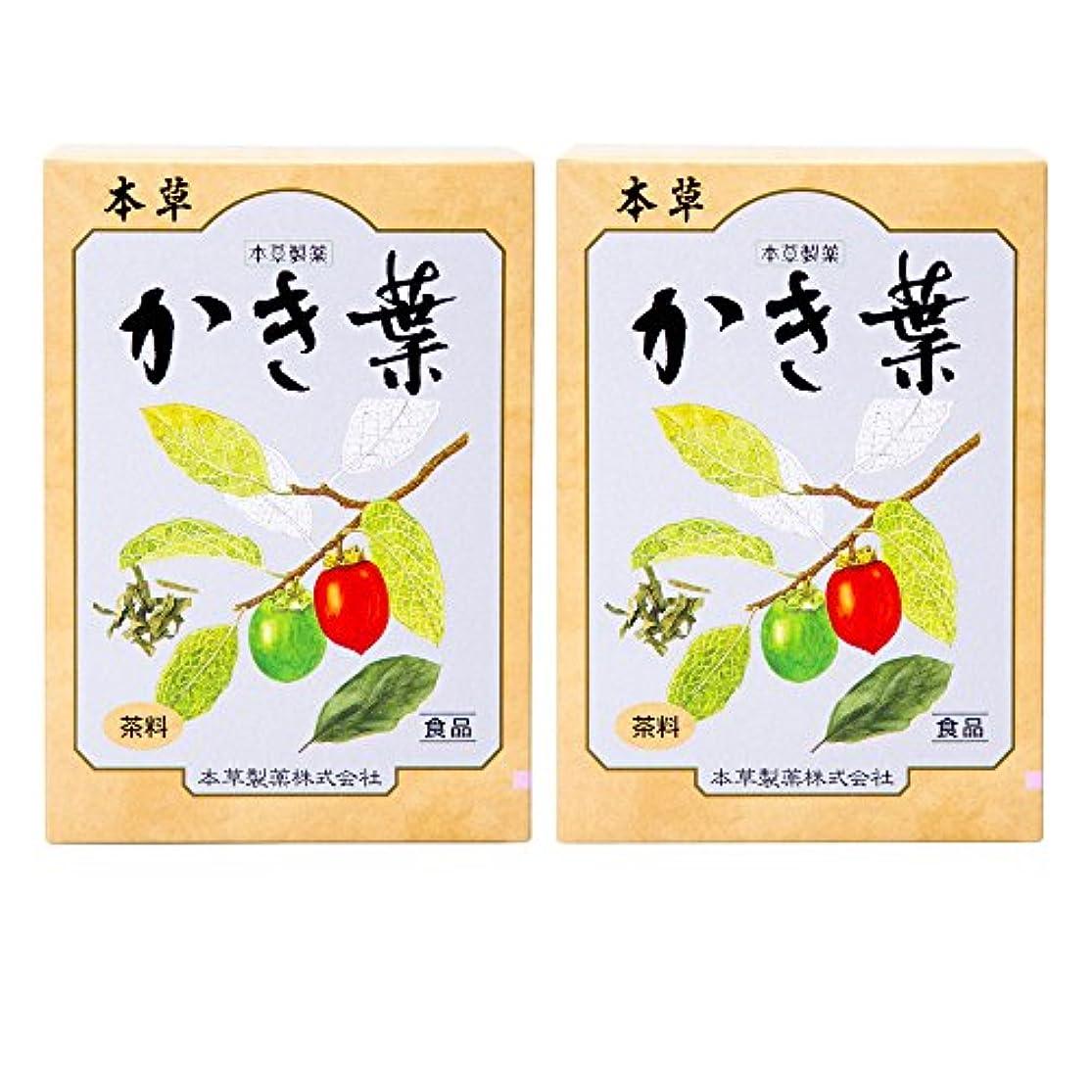 広々とした許容できる摂氏本草製薬 かき葉 2個セット