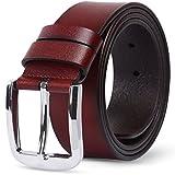 [ヤヨイ]YAYOIベルト メンズ 革 ビジネス ブランド 紳士 belt (コーヒー)
