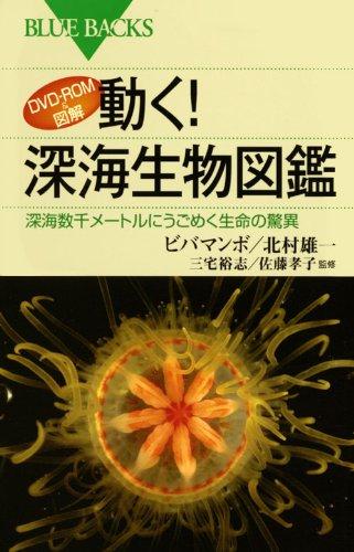 DVD-ROM&図解 動く! 深海生物図鑑 (ブルーバックス 1691)