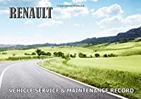 Vehicle Service & Maintenance Record: Renault - Bespoke, personalised books. Contact us if you would like your own image, name  or other text on a book