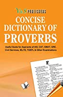 Concise Dictionary of Proverbs
