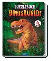 Troetsch Puzzlebuch Dinosaurier 4 Puzzles