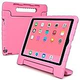 Cooper Cases(TM) Dynamo iPad Pro 12.9 キッズケース(ピンク)+ 無料スクリーンプロテクター(軽量、ショック吸収、お子様にも安心なEVAフォーム、ビューイングスタンド内蔵)