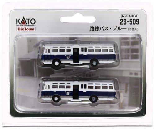 KATO Nゲージ 路線バス・ブルー 2台入 23-509 鉄道模型用品