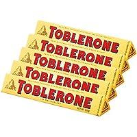 スイスお土産 トブラローネ TOBLERONE チョコレートバー ヌガーチョコレート5箱セット