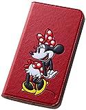 レイ・アウト ASUS ZenFone2(ZE551ML) ディズニー 手帳型ポップアップレザーケース (スタンド機能/ICカードポケット) ミニーマウス RT-DAZ2J/MN