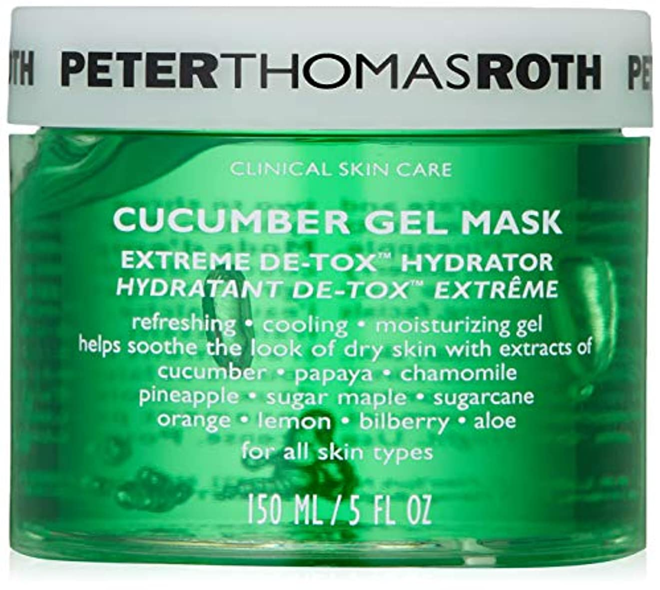 悪因子参照量Peter Thomas Roth Cucumber Gel Masque 0.3125 pounds
