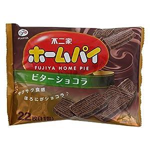 不二家 ホームパイ(ビターショコラ) 22枚