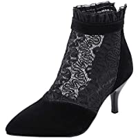 KemeKiss Women Stiletto Heels Court Shoes Pointed Toe