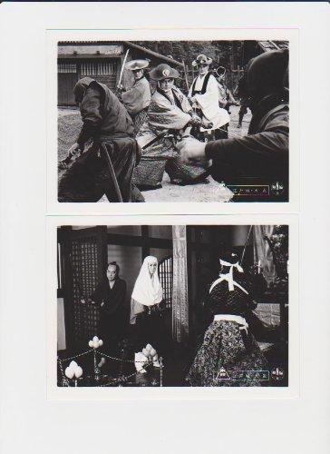 映画スチール 「江戸城大乱」白黒7枚