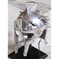 annafi ®メタルグラディエーターMaximus Arena保護用ヘルメットシルバー69 cmインナー円周