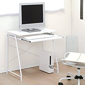 アイリスオーヤマ パソコンデスク ホワイト 幅70×奥行43×高さ70cm PDN-7038