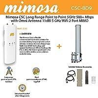 ミモザc5C connectorizedクライアント5GHz MIMO +アンテナOmni +ケーブル2単位