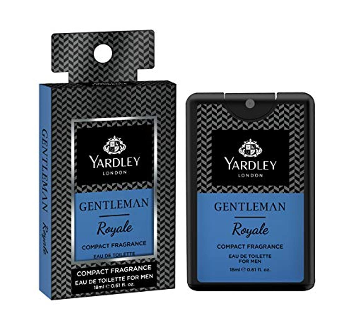 一タワー石膏Yardley Gentleman Royale Compact Perfume 18 ml