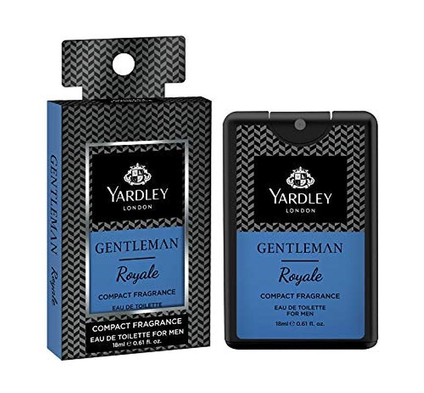 船形緩やかな勤勉なYardley Gentleman Royale Compact Perfume 18 ml