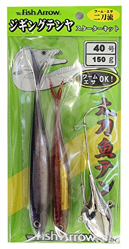[해외]Fish Arrow (피쉬 애로우) 덴야 지깅 덴야 스타터 키트 40 호 150g SV./Fish Arrow (Fish Arrow) Tenya Jigging Tenya Starter Kit No. 40 No. 150 g SV.