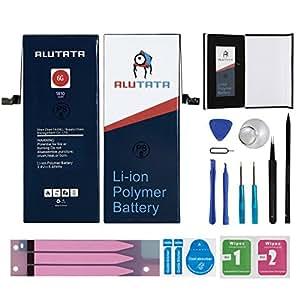 アルタタ 修理用 for iPhone6バッテリー Exclusive Use Battery バッテリー修理 交換バッテリー 3.8v/1810mAh11点セット
