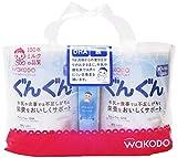 「和光堂 フォローアップミルク ぐんぐん 粉ミルク [満9ヶ月頃から3歳頃] 830g×2缶 ベビーミルク (おまけ付き)」のサムネイル画像